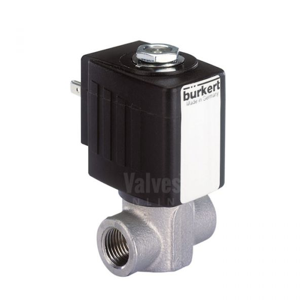 Burkert Type 6240 High Temperature Solenoid Valve