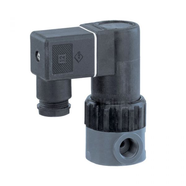 GEMU 52 2/2 Way PVC-U Solenoid Valve for Aggressive Fluids