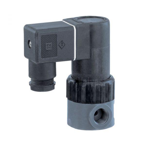 GEMU 52 2/2 Way PVC-U Solenoid Valve for Aggressive Fluids