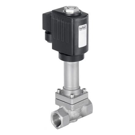 Burkert Type 2610 2/2 Way Cryogenic Solenoid Valve