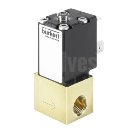 Type 2871 Direct-acting 2-way Standard Solenoid Control Valve