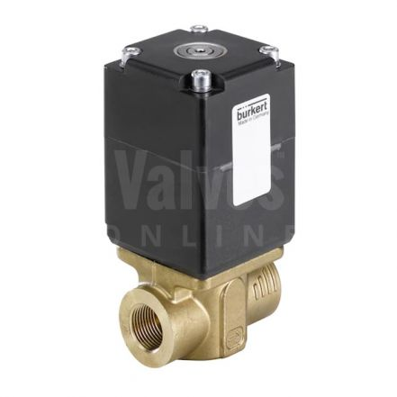 Type 2875 Direct-Acting 2 Way Standard Solenoid Control Valve