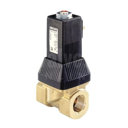 Type 6223 Servo-Assisted 2-Way High-Flow Solenoid Control Valve