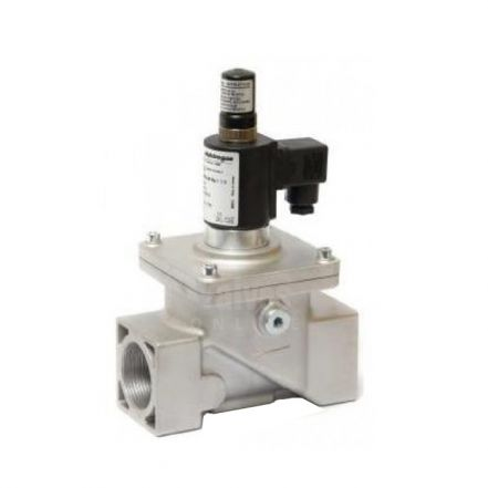"Gas Solenoid Valve Manual Reset 2 Way EN161 3/8"" - 8"""