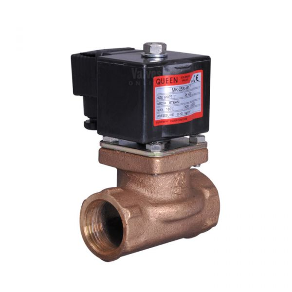 Direct Acting Bronze Steam Solenoid Valve