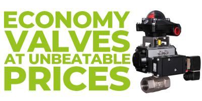 Economy Valves at unbeatable prices