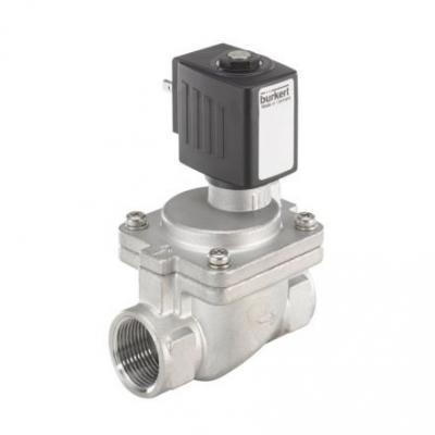 Servo Assisted Solenoid Valves