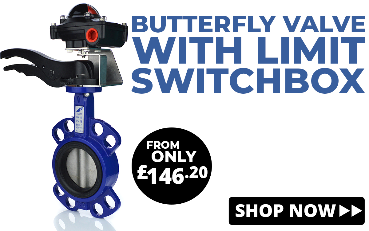 Butterfly Valves with Limit Switchbox