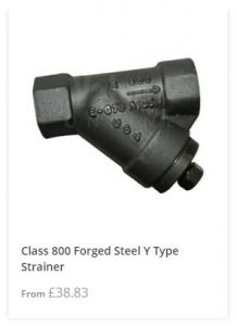 Class 800 Y Strainer