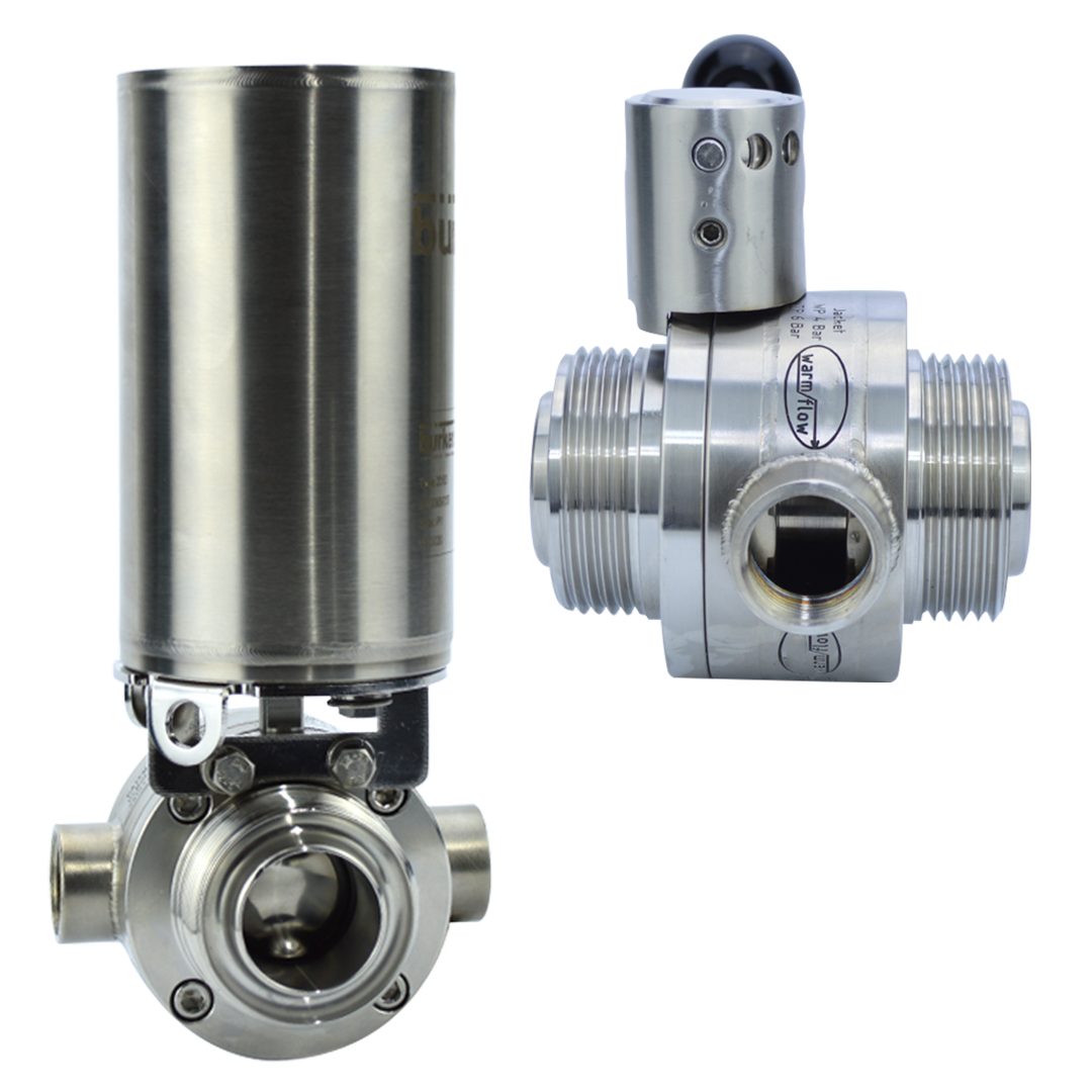 Warmflow Jacketed Butterfly valve