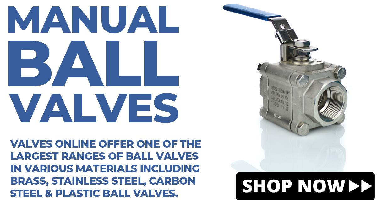 View Manual ball valves